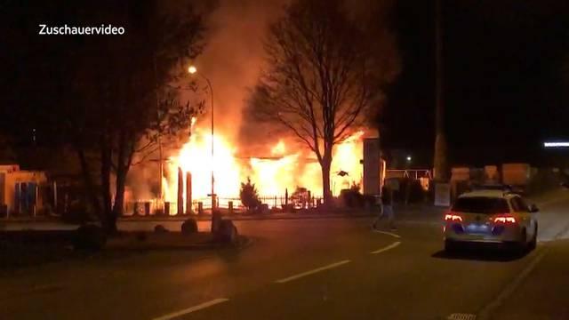 Brand im Restaurant Mi Casa Loca: «Aufgrund der Ermittlungen müssen wir müssen von Brandstiftung ausgehen»