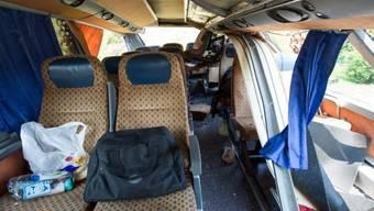 Der Busunfall forderte zehn Todesopfer