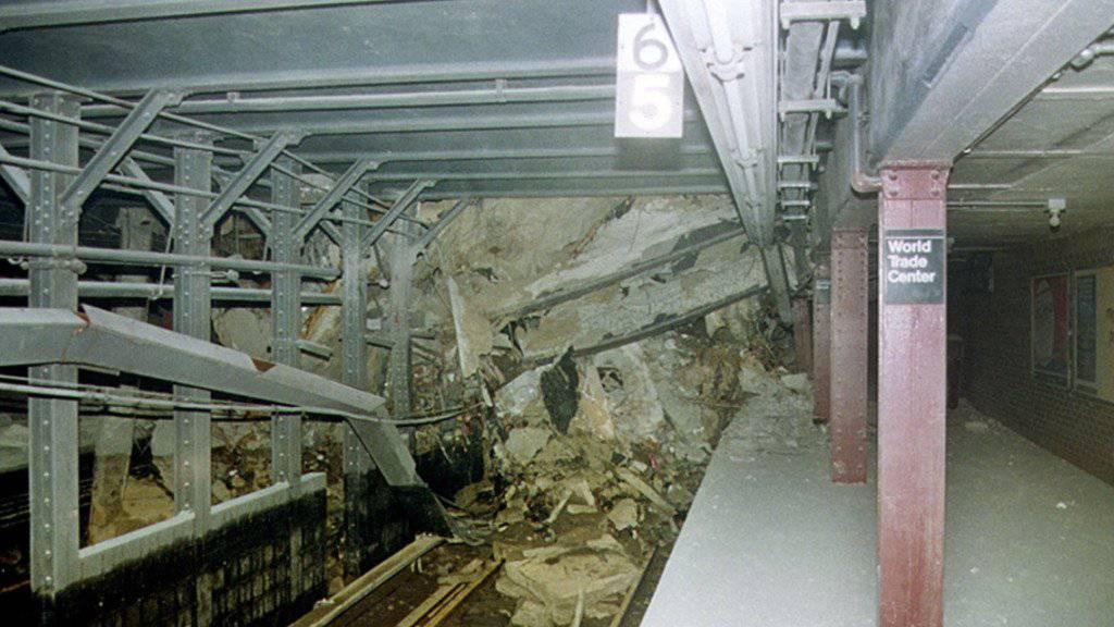 Rund 17 Jahre nach den Anschlägen auf das WTC in New York ist am Samstag eine zerstörte U-Bahn-Station wieder eröffnet worden. (Archivbild)
