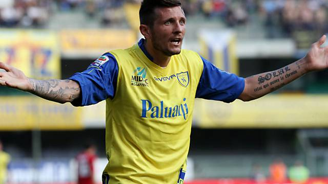 Cyril Thereau schoss Chievo in der Schlussphase zum Sieg gegen Roma