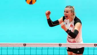 Die Schweizerinnen mit Laura Künzler schliessen die EM mit einem Achtungserfolg ab