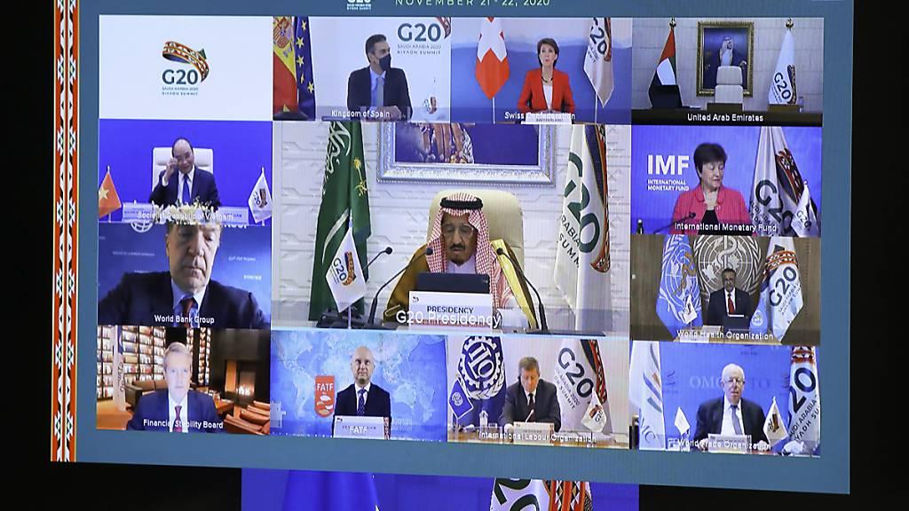 Von der Leyen fordert bei G20-Gipfel mehr Geld für Kampf gegen Corona