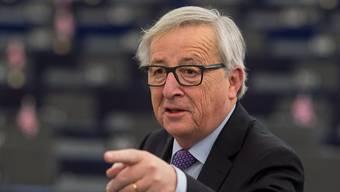 Weil es beim Rahmenabkommen nicht vorwärts geht verschärfte EU-Kommissionspräsident Jean-Claude Juncker im Dezember den Ton gegenüber der Schweiz. (Archiv)