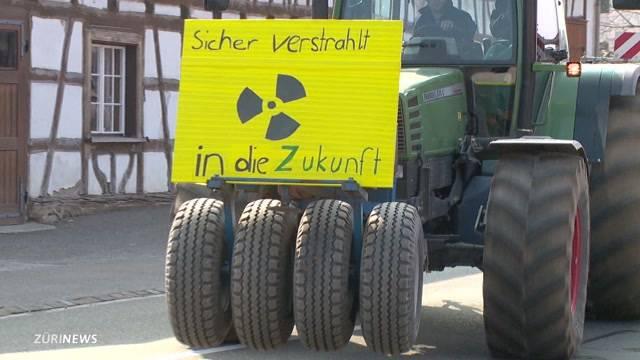 Protest gegen Atomendlager