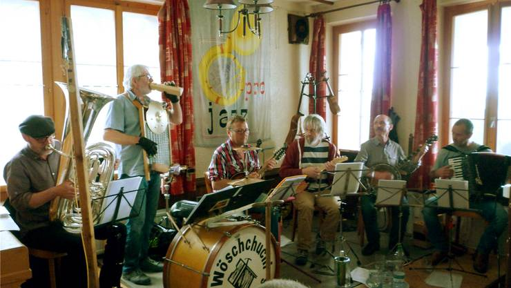Die «Wöschchuchi Serenaders» überzeugten in der «Schönegg». Daniel Trummer