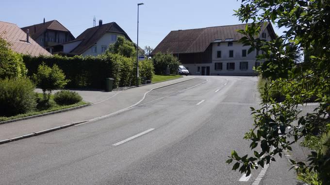 Die Hünikenstrasse wird saniert.