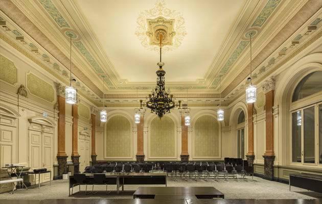 Der Assisensaal des Berner Amthauses.