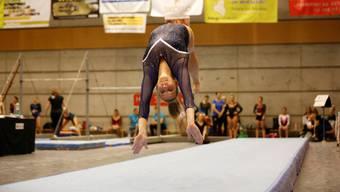 Goldmedaillengewinnerin Manuela Crameri am Boden.