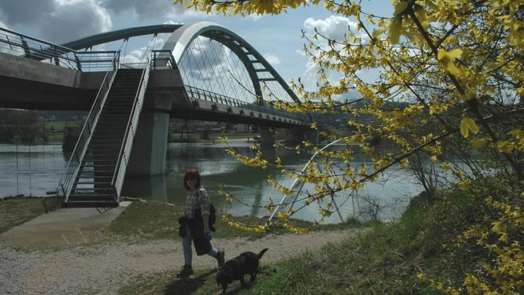 Wie die Archbrücke war die Repla eine «Brücke» zum Kanton Bern.