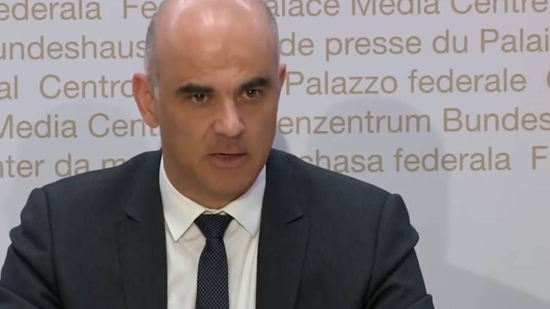 Highlights: Bundesrat Alain Berset in der Coronakrise