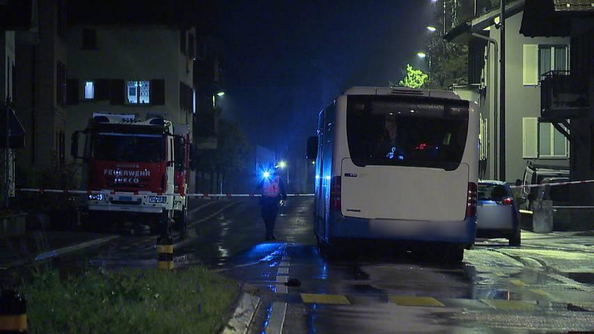 Luzern: Tödlicher Verkehrsunfall - mit Auto kollidiert und vom Linienbus überfahren