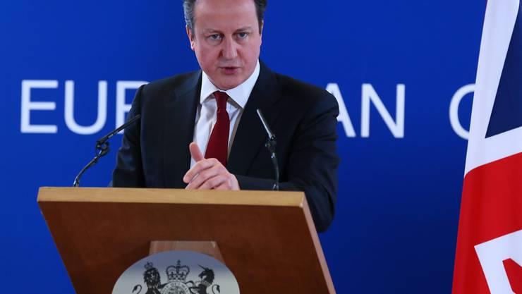 23. Januar 2013: Der damalige konservative Premierminister David Cameron kündigt ein Referendum über die EU-Mitgliedschaft Grossbritanniens an. Damit erfüllt er eine langjährige Forderung der EU-Gegner in seiner Partei.