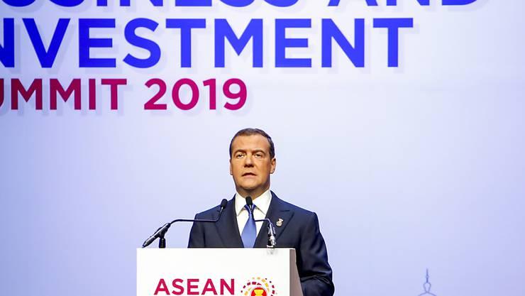 Der russische Ministerpräsident Dmitri Medwedew rief die südostasiatischen Länder auf, bei der Entwicklung neuer Hard- und Software zusammenzuarbeiten.