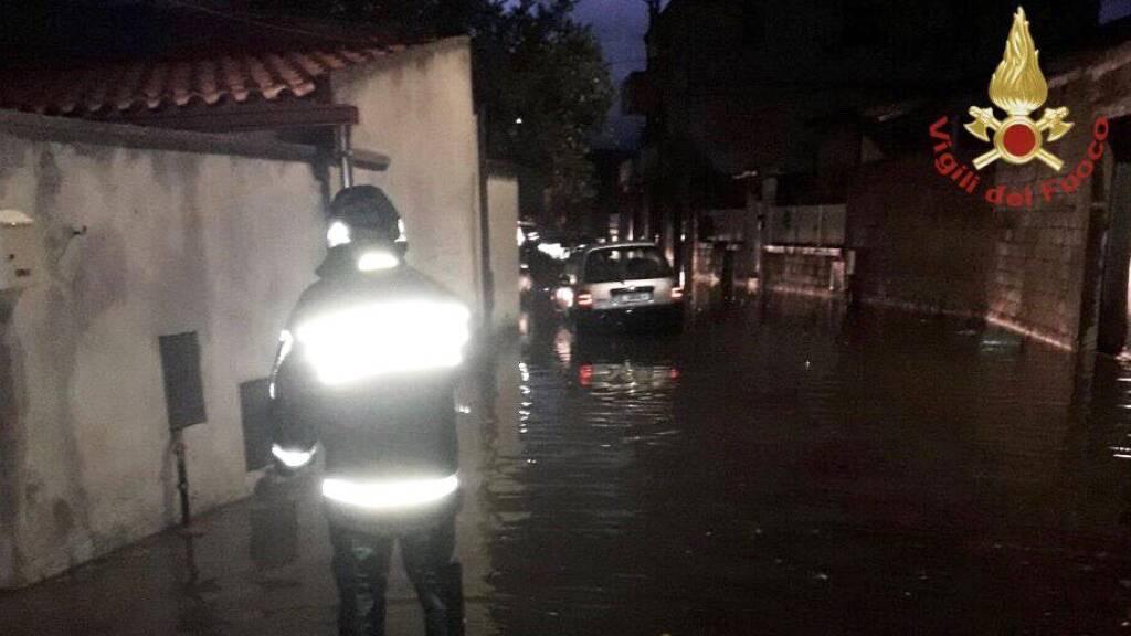 Heftige Unwetter auf Sardinien – mindestens zwei Tote