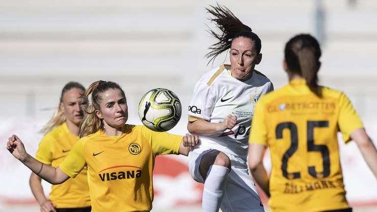 Hochkarätiger Gegner: Im Schweizer Cup treffen die Frauen des FC Erlinsbach auf die YB-Frauen aus der höchsten Spielklasse.