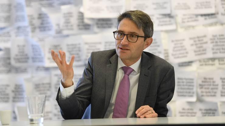 Lukas Engelberger, Vorsteher des Basler Gesundheitsdepartements.