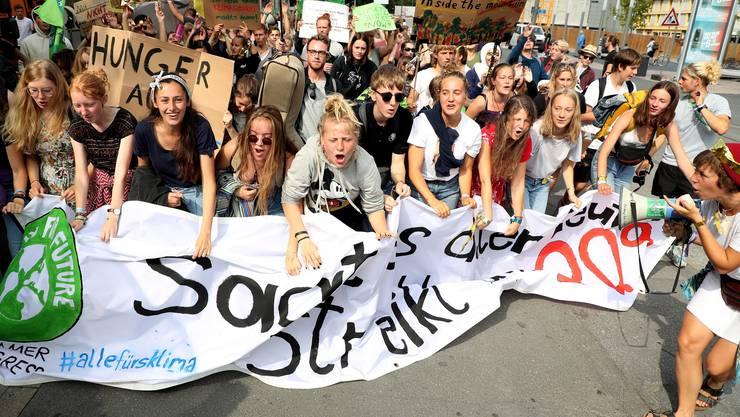 Klima-Streiks wie hier in Dortmund finden inzwischen fast wöchentlich statt.