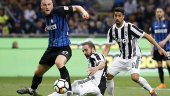 Inter Mailand und Juventus Turin boten sich einen spektakulären Abnützungskampf