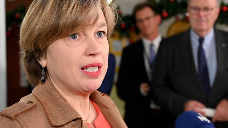 ARCHIV - Catherine De Bolle, hier im Dezember 2019, ist Direktorin von Europol. Foto: Carsten Rehder/dpa