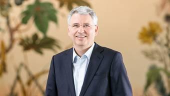 Severin Schwan spürt trotz elf Jahren als Roche-Chef keine Amtsmüdigkeit. Den Fortschritt in der Medizin zu verfolgen und etwas dazu beizutragen, motiviert ihn.