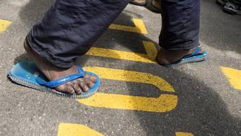 Viele abgewiesene Asylbewerber tauchen unter. (Symbolbild)