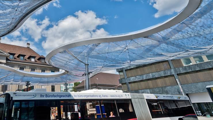 Einzigartig: Wer am Bahnhof aussteigt, soll merken, dass er sich in Aarau befindet. Emanuel Freudiger
