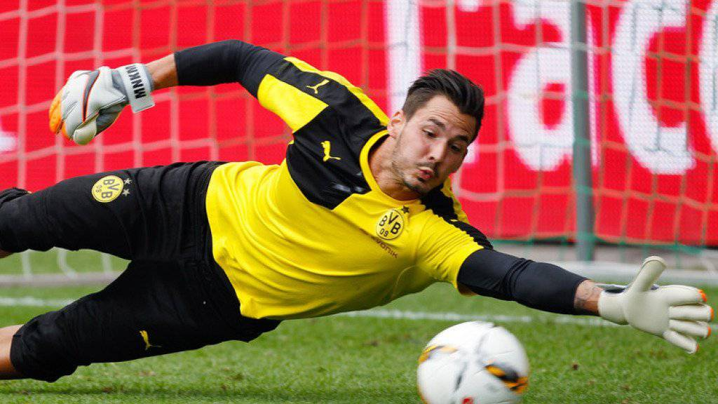 Bei Borussia Dortmund hütet der Schweizer Roman Bürki das Tor. Der BVB ist der einzige deutsche Fussballclub, der an der Börse kotiert ist.