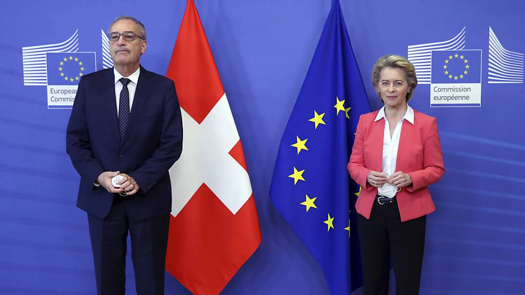Knappe Mehrheit der Schweizer hätte gegen Rahmenabkommen gestimmt