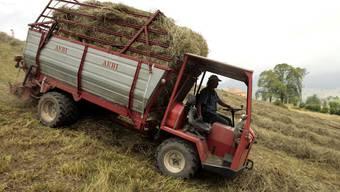 Mit den Bauern geht's bergab: Die Bedingungen werden immer schwieriger.