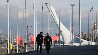 Noch ist es ruhig in Sotschi, doch für Olympia sollen 60000 Sicherheitskräfte abgestellt werden – auch gegen Schwule?Keystone