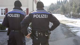 Grosseinsatz in Malters: Frau verschanzte sich in Haus