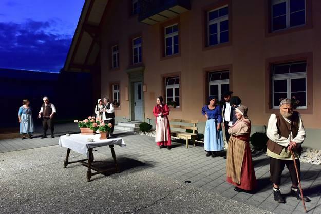 Authentisch ist der Ort der Aufführung: Die Schälismühle in Oberbuchsiten. Hier wohnte von 1640 bis 1653 der Untervogt und Bauernführer Adam Zeltner.