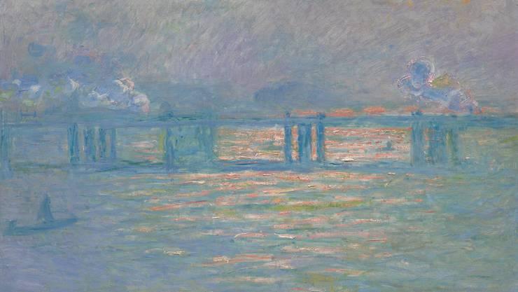 """Claude Monet: """"Charing Cross Bridge"""" von 1903. Schätzpreis 20 bis 30 Millionen Dollar."""