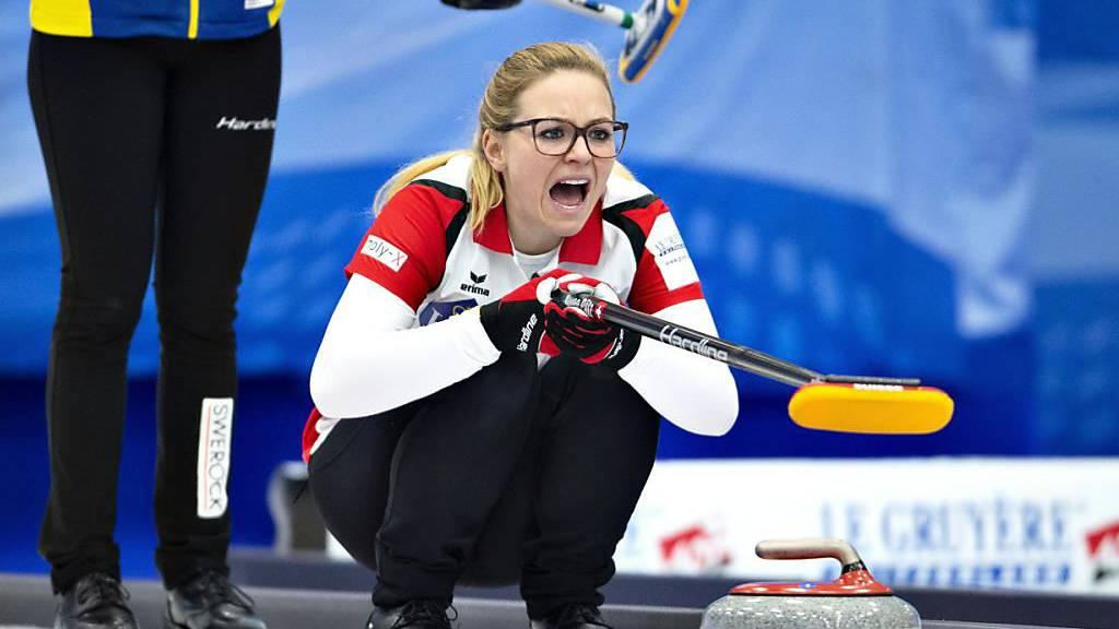 Hart erkämpfter Sieg der Schweizer Curlerinnen