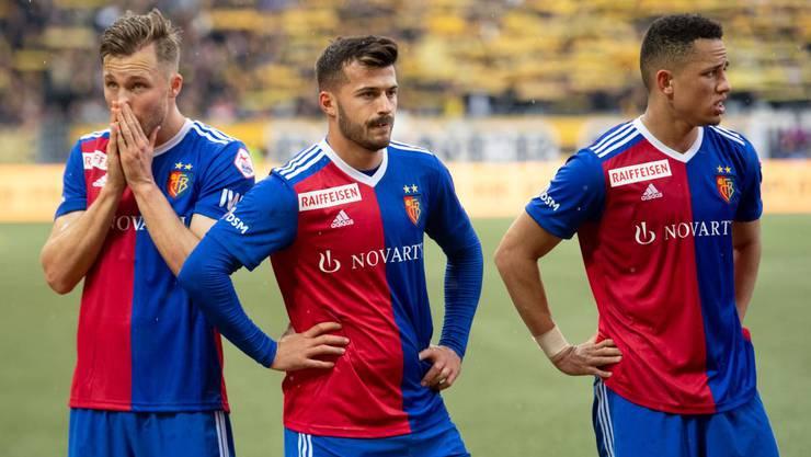Der FC Basel verliert gegen YB mit 1:3.