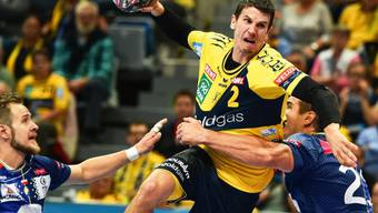 In der besten Liga der Welt eine Klasse für sich: der Schweizer Handballer Andy Schmid
