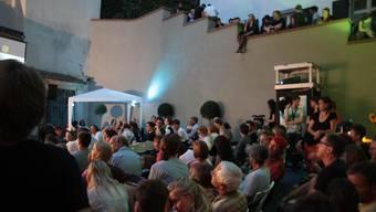 Das Gässli Film Festival wird wieder subventioniert.