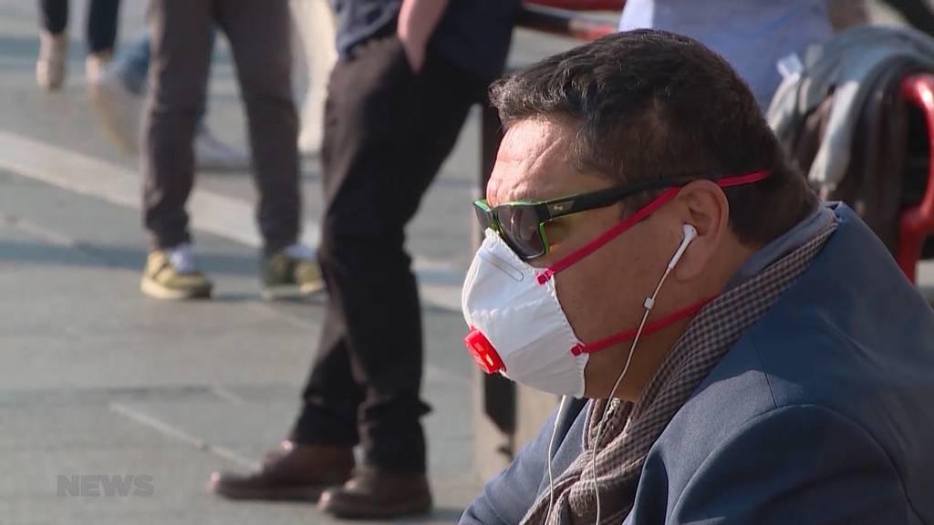Keine Panik vor Coronavirus in Mailand