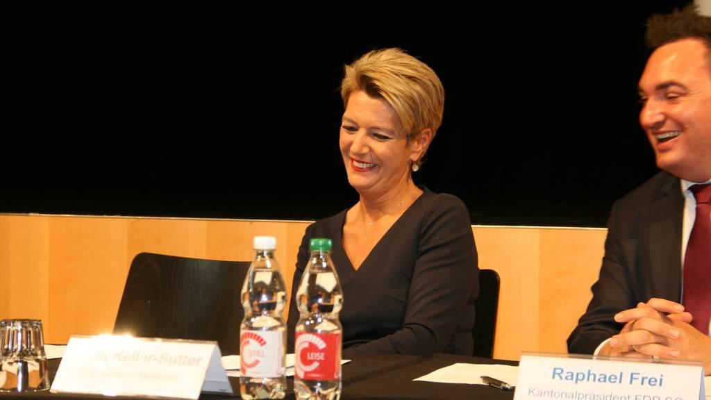 Karin Keller-Sutter will Bundesrätin werden