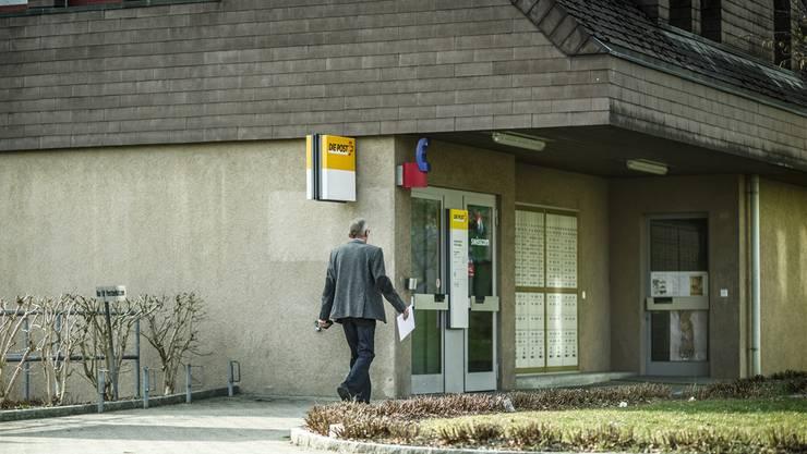 Die Poststelle an der Hauptstrasse in Küttigen wird im Herbst aufgegeben.Die Poststelle in Rombach bleibt bestehen.
