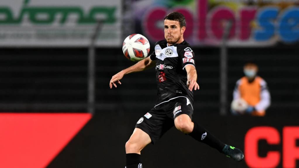 Adrian Guerrero, hier noch im Dress des FC Lugano