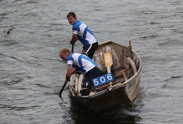Alex Bieri und Stefan Suter gewinnen die Silbermedaille bei den Junioren