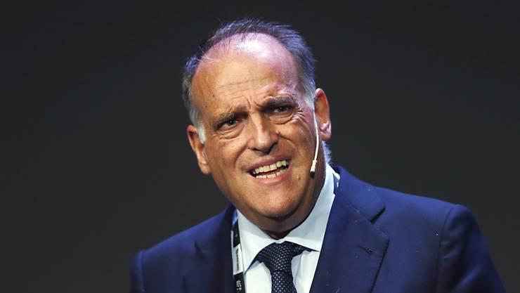 Spaniens Liga-Präsident Javier Tebas rechnet mit Auswirkungen auf Löhne und Transfers
