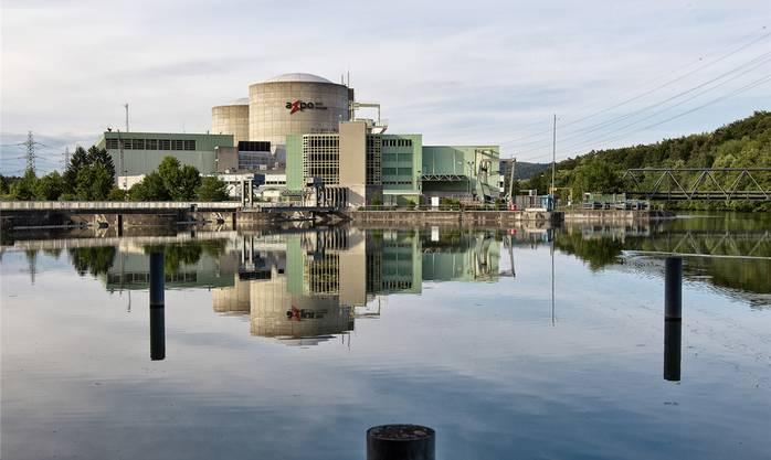 Gegen 1000 Unregelmässigkeiten im Reaktordruckbehälter von Beznau I: Atomkraftwerk Beznau.