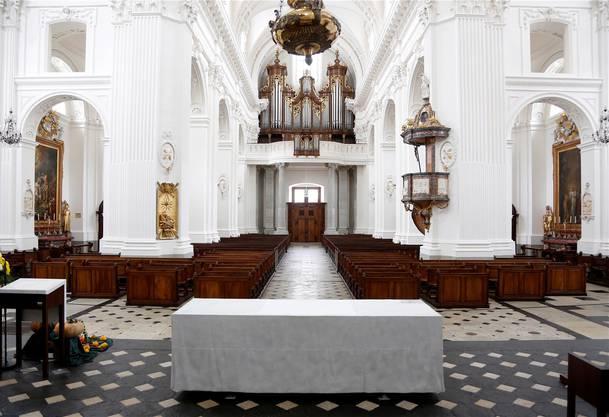 Die Innensanierung der St.-Ursen-Kathedrale in Solothurn wurde von der Jury mit einem Architekturpreis bedacht.