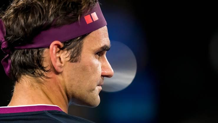 An den Australian Open unter ständiger Beobachtung: Roger Federer.