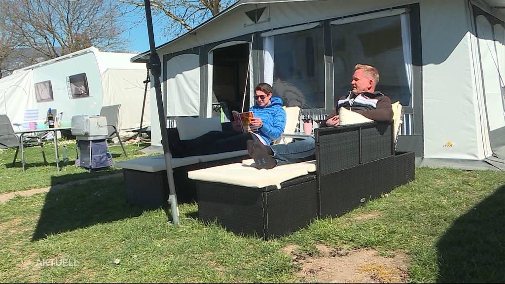 Campingplätze an Ostern ausgebucht