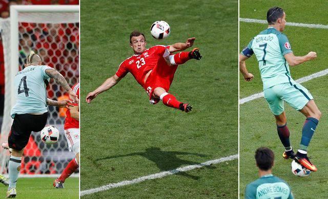 Die schönsten Tore der Europameisterschaft 2016 im Video