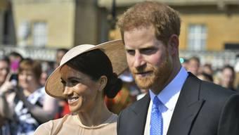 Harry und Meghan: Erster öffentlicher Auftritt nach Hochzeit