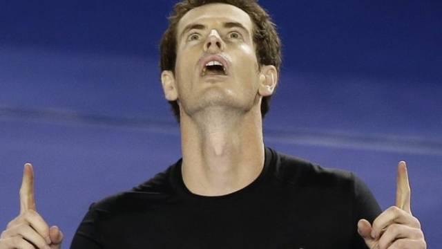 Was anziehen? Andy Murray wartet auf göttliche Eingebung